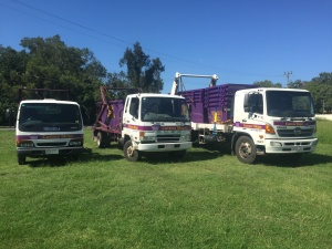 Cutters Skips Rubbish Trucks