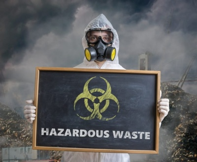 Dispose of your hazardous waste